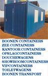 container huren Boonen