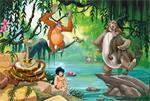 Jungle Book Fotobehang Jungle Book VLIESbehang