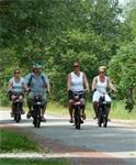 Solex rijden in Friesland