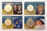 De eerste 4 Coincards uitgegeven door de KNM