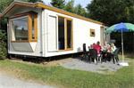 Stacaravan 5p op camping met zwembad La Roche