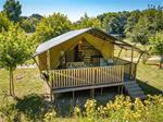 Luxe safaritenten met badkamer op kleine campings