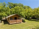 Luxe safaritenten op kleine campings in Frankrijk