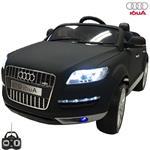 Audi Q7 mat zwart 2.4GHz 12v FM radio Special edition