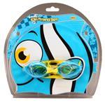 Waimea Zwemmuts Vis met Zwembril - Junior - Lichtblauw