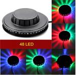Disco bal bol verlichting licht LED lamp flower RGB 360 grad