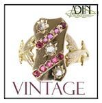2e hands vintage ringen aan de beste prijzen
