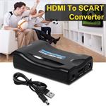 HDMI scart convertor adapter omvormer schakelaar verloop