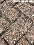 19212 ROOIKORTING 1.150m2 heide rood betonklinkers straatste