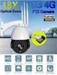 Percom 4G simkaart speeddome met 20x zoom ultra hoog