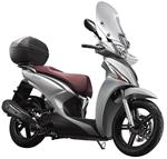 Kymco New People S 150 (E4) (Mat Zilver) bij Central Scooter