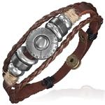 Bohemian leren Ibiza bracelet