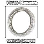 Diamanten verlovingsring met mooie geschiedenis