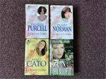4 Romantische boeken,meesterwerken van romans