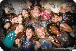 Kinderfeestjes fotoshoot,  make-up  fotostudio