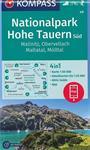 Wandelkaart 49 Hohe Tauren Süd Zuid Mallnitz - Obervellach -