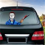Michael Miles Patroon Horror Serie Auto Achterruit Ruitenwis