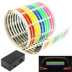 5 kleuren auto muziek ritme lamp / auto sticker equalizer me