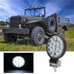 D0037 9.8 W 10-30 V DC 6000 K 3 inch 14 LEDs Cirkel Offroad