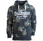 Fox Originals Amsterdam Bike Patern Heren Hoodie XL