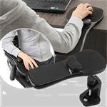 Rotation Computer Desktop Laptop Mouse Tray Elbow Pad Wrist