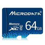 MICRODATA 64GB U3 Blue TF(Micro SD) Memory Card