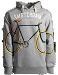 Fox Originals Amsterdam All over bike Heren Hoodie Maat S