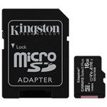 Kingston Canvas Select Plus microSDHC 16GB + SD-adapter