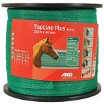 AKO TopLine Plus schriklint groen 4 cm-200 meter