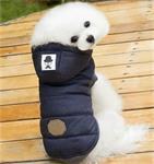 Warme Winterjas voor een Chihuahua, Poedel of Franse Bulldog