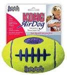 Kong air squeaker football geel SMALL 9X5,5 CM