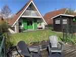 Vakantiehuisje te huur met Sauna aan Lauwersmeer