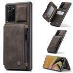 CASEME Samsung Galaxy Note 20 Back Cover Wallet Hoesje - Cof
