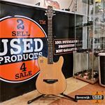 J.N Guitars EW3000CBK Semi Akoestische Gitaar Solid Body - Z