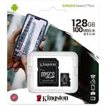 Kingston Canvas Select Plus microSD Card 10 UHS-I - 128GB -