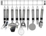 Keukenset RVS - 9 delig  Alleen deze week 10% extra korting