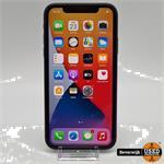 Apple iPhone 11 Zwart 64GB - In Goede Staat