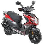 AGM R8 AGM (Mat Rood) bij Central Scooters kopen €1548,00 of