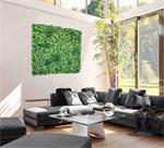 Kunsthaag Wandmat Jungle Blanco 1m2, Volle dekking
