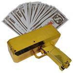 Money gun geld pistool cash cannon | Moneygun | Cashgun | Ca