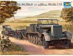 Trumpeter   07275   German 18 ton Heavy Halftrack Sd.Kfz.9 a