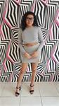 Grey Sexy Sweater Skirt 2 Piece Set — ONE SIZE
