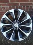18''CMS C21 Mat Black With Polished Face Kia