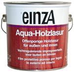 einZa Aqua Holzlasur - Kleurloos Transparant - 3 liter
