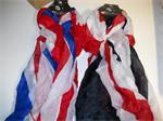 UK shawls 90x170 cm 2 stuks