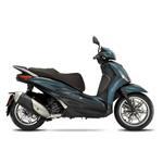 Piaggio New Beverly 300 (E5) (Blu Oxygen) bij Central Scoote