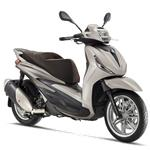Piaggio New Beverly 300 (E5) (Grigio cloud) bij Central Scoo