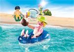 Playmobil Family Fun 70112 Badgasten met zwembanden