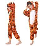Onesie huispak tijger  + GRATIS hanger maat 116/122 (120) 5-