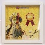 Lego Display CMF Mister Gold